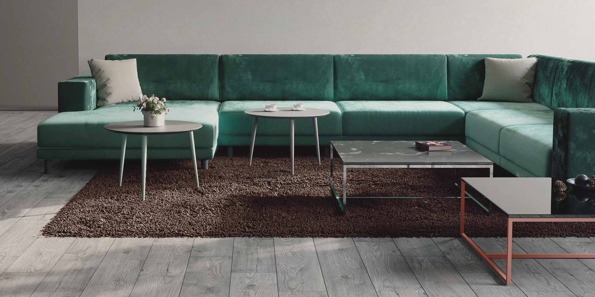 coffee tables in different shapes and sizes